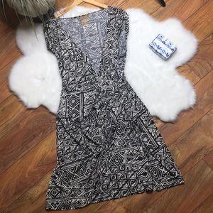 Miss Tina by Tina Knowles printed wrap dress